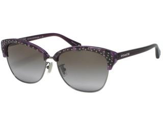 Coach HC7024 Michayla 5136/68 Magenta Ocelot Sunglasses