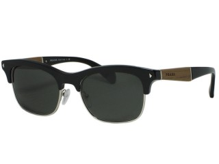 Prada Eyewear VPR22O Black (1AB) Custom Sunglasses