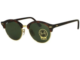 Ray Ban RB4246 Round Clubmaster 990 Red Havana